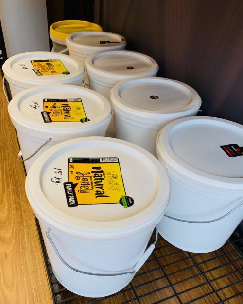 Golden Blossom Honey 15kg