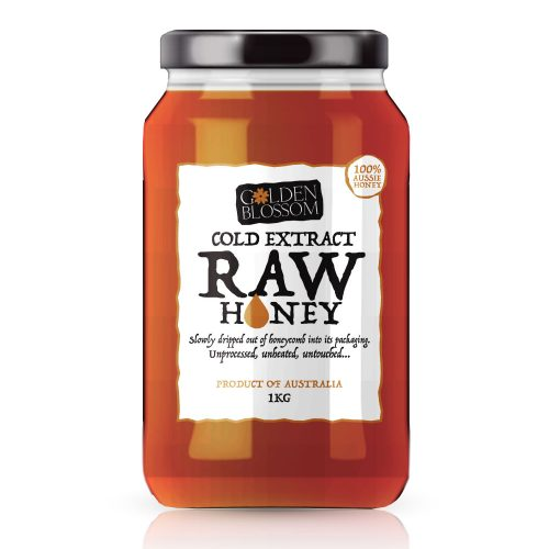 Cold Extract Raw Honey | Glass Jar