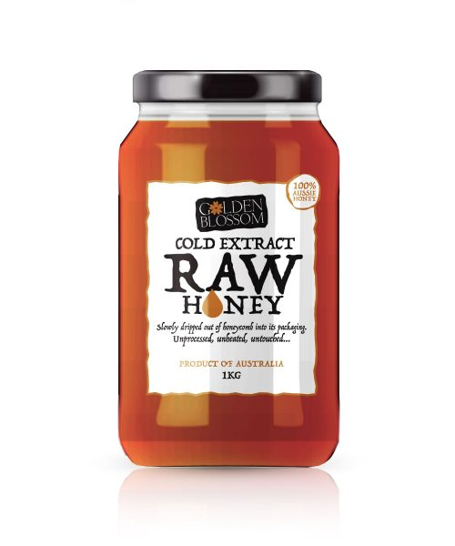 Cold Extract Raw Honey 1kg