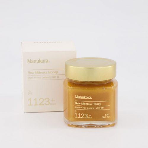 Manukora Raw Manuka Honey UMF24+ (MGO1123+) 230g