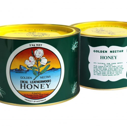 Golden Nectar Leatherwood Candied Honey 2kg