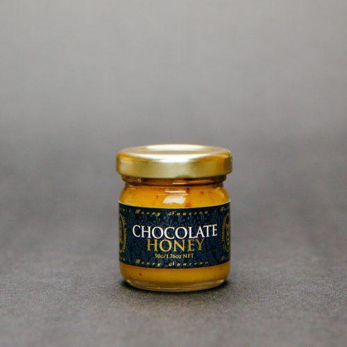 Tasmanian Honey Company Gift Box of 3 x 50g Jars Ginger, Orange, Chocolate