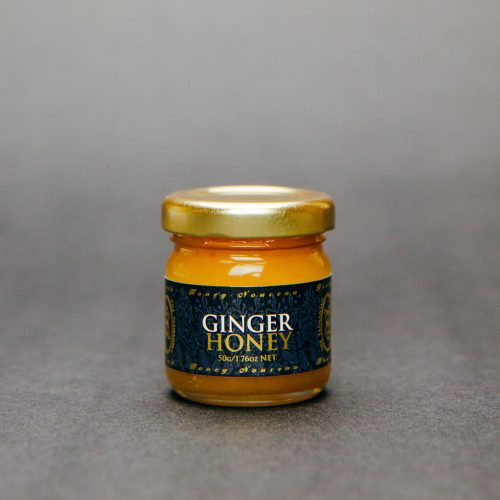 Tasmanian Honey Company Gift Box of 3 x 50g Jars Ginger, Orange, Chocolate