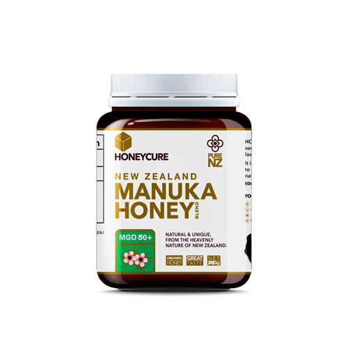 New Zealand Manuka Honey  MGO 80+250g