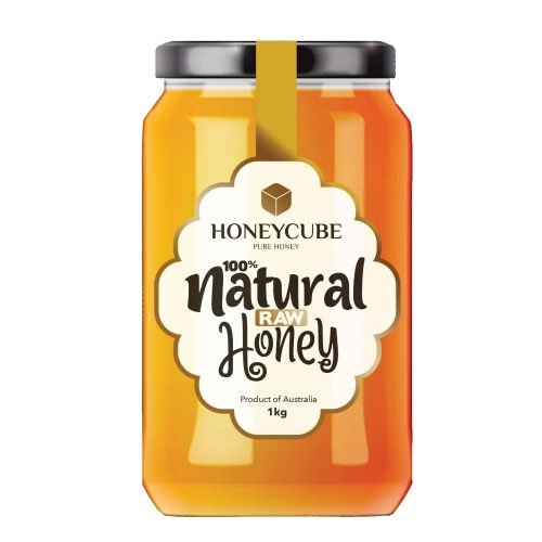 Natural Raw Honey | Glass Jar | 1kg