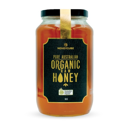 Raw Organic Honey | Glass Jar