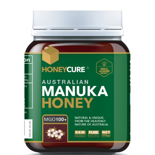 Honey Cure Australian Manuka 500g MGO 100