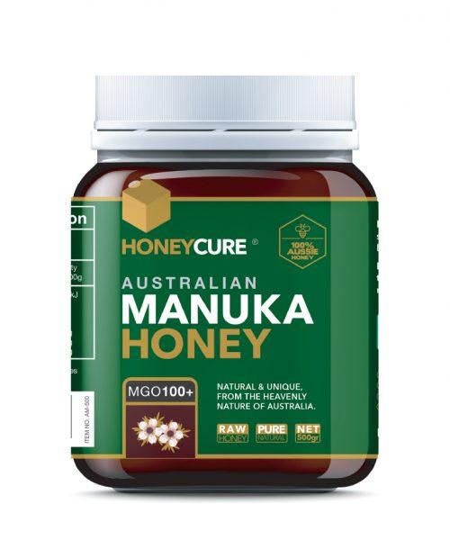 Honey Cure Australian Manuka 500g MGO 100