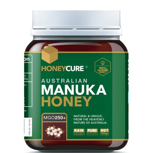 Honey Cure Australian Manuka 500g MGO250