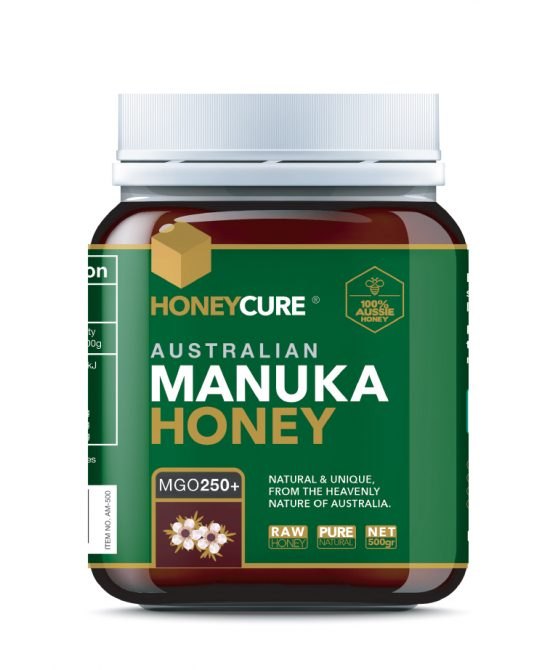 Honey Cure Australian Manuka 500g MGO250