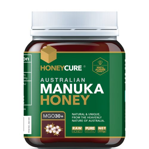 Honey Cure Australian Manuka 500g MGO30