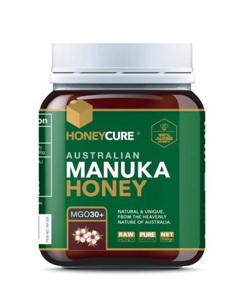 Honey Cure Australian Manuka 500g MGO30
