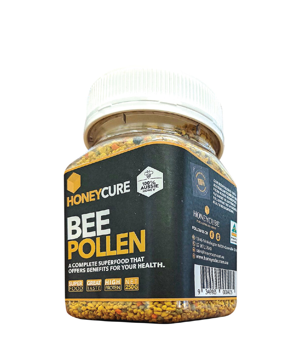 Watch Bee Pollen video
