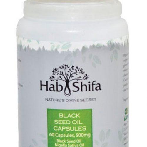 Hab Shifa Black Seed Oil 60 Capsules 500mg