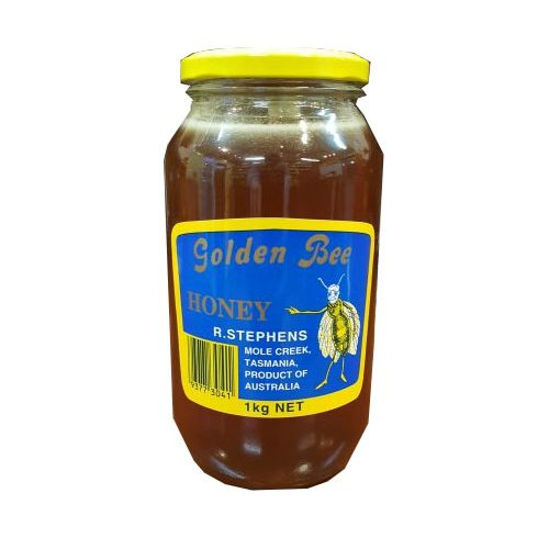 Golden Bee Honey | Glass Jar | 1kg