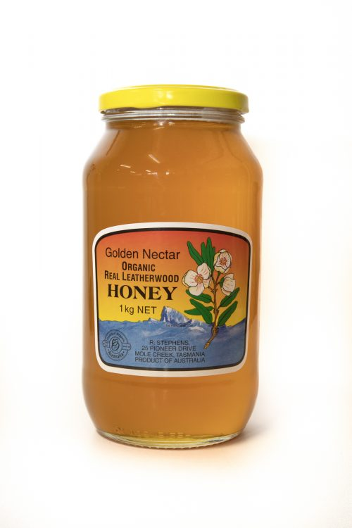 Golden Nectar Leatherwood Honey