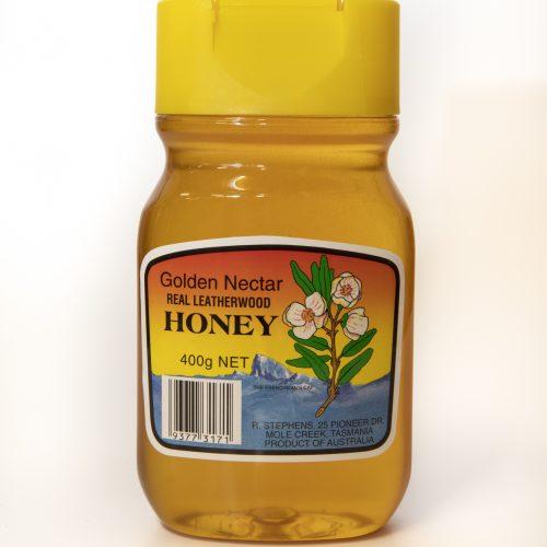 Golden Nectar Leatherwood Honey Squeezable  400g