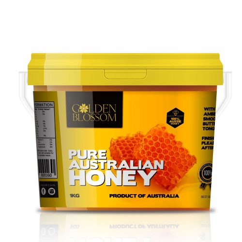 Golden Blossom Raw Eucalyptus Honey 1kg