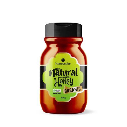 Honeycube Organic Squeeze Honey 500g
