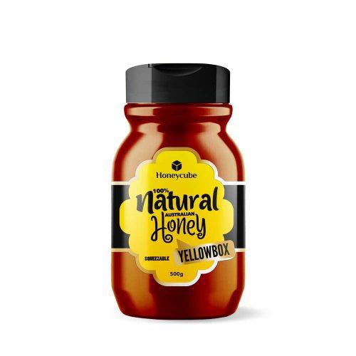 Honeycube Yellow Box Squeeze Honey 500g