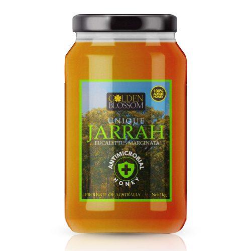 Honey Cure Jarrah Honey Glass Jar