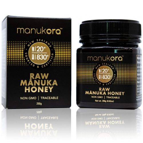 Manukora Raw Manuka Honey UMF20+ (MGO830+) 250g
