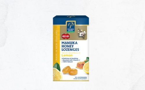 Manuka Honey & lemon Lozenges