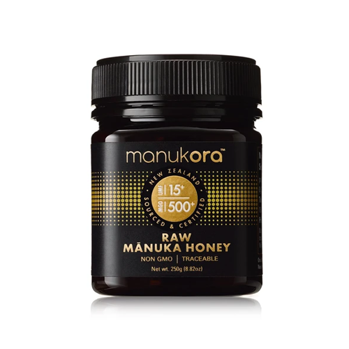 Manukora Raw Manuka Honey UMF15+ (MGO500+) 250g