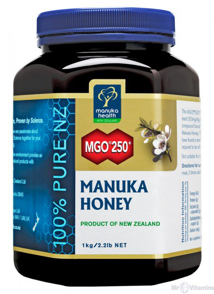 MGO250+ Manuka Honey 1 kg