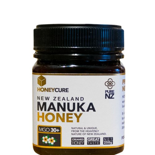 Honey Cure New Zealand  Manuka 250g MGO50