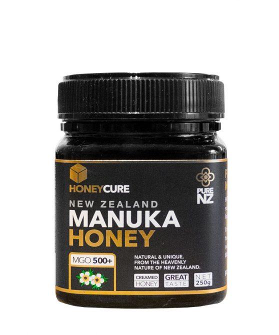 Honey Cure New Zealand  Manuka 250g MGO500