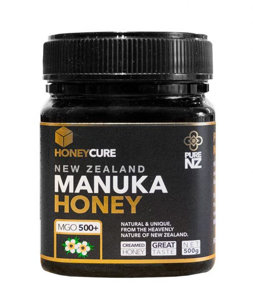 Honey Cure New Zealand  Manuka 500g MGO500