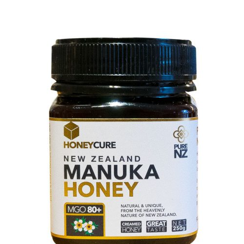 Honey Cure New Zealand  Manuka 250g MGO80