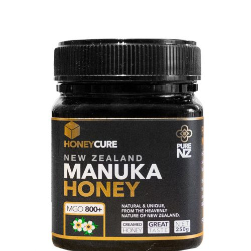 Honey Cure New Zealand  Manuka 250. MGO 800