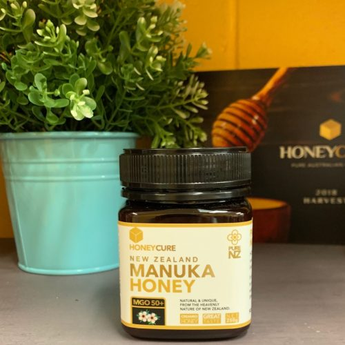 Honey Cure New Zealand Manuka 250g MGO50