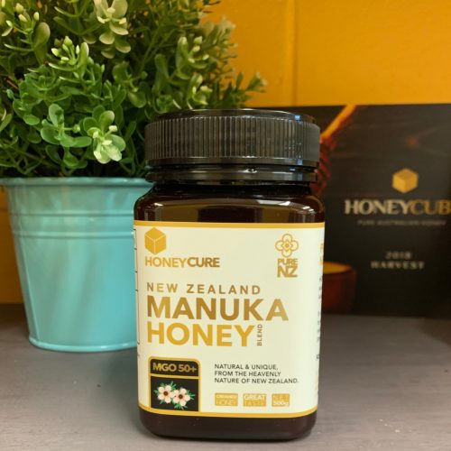 Honey Cure New Zealand  Manuka 500g MGO50