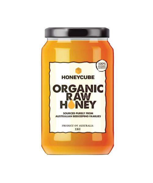1 kg Organic Raw Honey