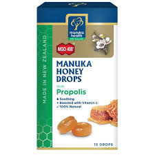 Manuka Honey & Propolis Lozenges