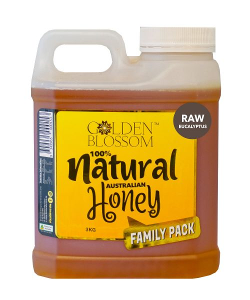 Golden Blossom Raw Eucalyptus Honey 3kg