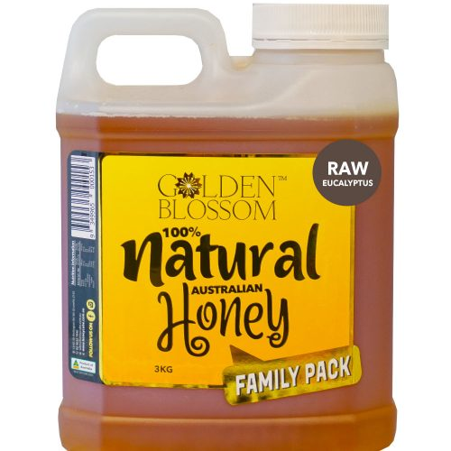 Golden Blossom Raw Eucalyptus Honey 3kg