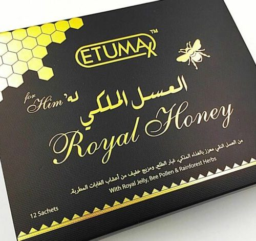 Royal Honey Etumax 12X10g