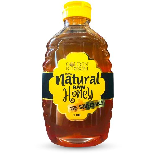 Golden Blossom Raw Eucalyptus Honey Squeeze Bottle 1kg