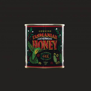 Tasmanian Leatherwood Honey | Printed Metal Can 350g