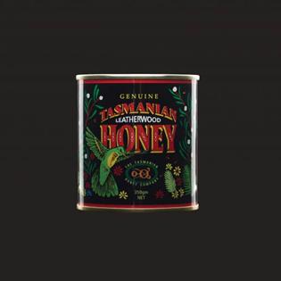 Tasmanian Leatherwood Honey | Printed Metal Can 350g
