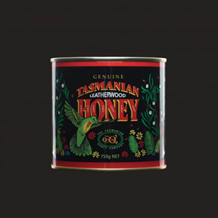 Tasmanian Leatherwood Honey | Printed Metal Can 750g