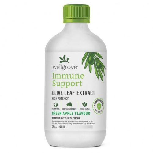 Wellgrove® Immune Support – OLIVE LEAF EXTRACT GREEN APPLE FLAVOUR