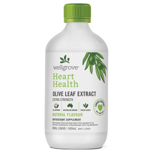 Wellgrove® Heart Health Extra Strength – OLIVE LEAF EXTRACT